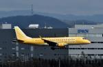 Dojalanaさんが、新千歳空港で撮影したフジドリームエアラインズ ERJ-170-200 (ERJ-175STD)の航空フォト(飛行機 写真・画像)