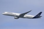 気分屋さんが、羽田空港で撮影したルフトハンザドイツ航空 A350-941の航空フォト(飛行機 写真・画像)