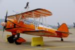 ちゃぽんさんが、珠海金湾空港で撮影したアエロ・スーパー・バティックス PT-17 Kaydetの航空フォト(写真)