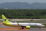 菊池 正人さんが、新千歳空港で撮影したジンエアー 737-8Q8の航空フォト(写真)