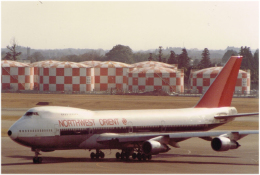 JA8037さんが、成田国際空港で撮影したノースウエスト・オリエント航空 747-151の航空フォト(飛行機 写真・画像)