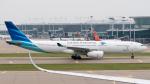 coolinsjpさんが、仁川国際空港で撮影したガルーダ・インドネシア航空 A330-343Eの航空フォト(写真)