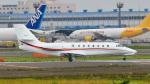 パンダさんが、成田国際空港で撮影した朝日航洋 680 Citation Sovereignの航空フォト(飛行機 写真・画像)