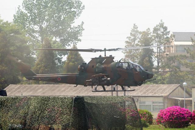 szkkjさんが、下志津駐屯地で撮影した陸上自衛隊 AH-1Sの航空フォト(飛行機 写真・画像)