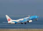 STAR TEAMさんが、中部国際空港で撮影した日本トランスオーシャン航空 737-8Q3の航空フォト(写真)