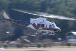 Nao0407さんが、松本空港で撮影した長野県消防防災航空隊 412EPの航空フォト(写真)