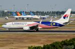 少年のjasonさんが、広州白雲国際空港で撮影したマレーシア航空 737-8H6の航空フォト(写真)