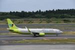 エルさんが、成田国際空港で撮影したジンエアー 737-8SHの航空フォト(写真)