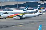 少年のjasonさんが、香港国際空港で撮影したエア・ベルギー A340-313Xの航空フォト(写真)