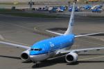 ケンジウムさんが、アムステルダム・スキポール国際空港で撮影したKLMオランダ航空 737-7K2の航空フォト(写真)