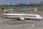 mameshibaさんが、羽田空港で撮影したシンガポール航空 A350-941XWBの航空フォト(写真)