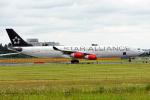 コージーさんが、成田国際空港で撮影したスカンジナビア航空 A340-313Xの航空フォト(写真)