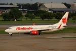 takaRJNSさんが、ドンムアン空港で撮影したマリンド・エア 737-8GPの航空フォト(写真)
