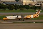 takaRJNSさんが、ドンムアン空港で撮影したノックエア DHC-8-402Q Dash 8の航空フォト(写真)