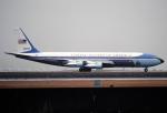 チャーリーマイクさんが、羽田空港で撮影したアメリカ空軍 VC-137C (707-353B)の航空フォト(写真)