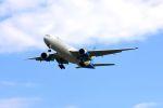 まいけるさんが、スワンナプーム国際空港で撮影したウクライナ国際航空 777-28E/ERの航空フォト(写真)