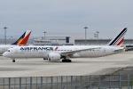 眠たいさんが、関西国際空港で撮影したエールフランス航空 787-9の航空フォト(写真)