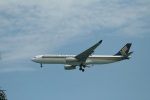 garrettさんが、シンガポール・チャンギ国際空港で撮影したシンガポール航空 A330-343Xの航空フォト(写真)