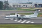 神宮寺ももさんが、高松空港で撮影した国土交通省 航空局 DHC-8-315Q Dash 8の航空フォト(写真)