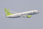 mameshibaさんが、羽田空港で撮影したソラシド エア 737-86Nの航空フォト(写真)