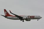 banshee02さんが、成田国際空港で撮影したティーウェイ航空 737-8Q8の航空フォト(写真)