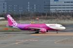 Dojalanaさんが、新千歳空港で撮影したピーチ A320-214の航空フォト(飛行機 写真・画像)