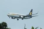 garrettさんが、シンガポール・チャンギ国際空港で撮影したジェットエアウェイズ 737-85Rの航空フォト(写真)