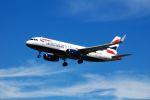 まいけるさんが、ロンドン・ヒースロー空港で撮影したブリティッシュ・エアウェイズ A320-232の航空フォト(写真)