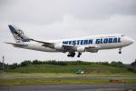 stray catさんが、成田国際空港で撮影したウエスタン・グローバル・エアラインズ 747-446(BCF)の航空フォト(写真)