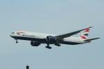 garrettさんが、シンガポール・チャンギ国際空港で撮影したブリティッシュ・エアウェイズ 777-336/ERの航空フォト(写真)