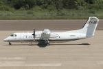 西風さんが、大館能代空港で撮影した国土交通省 航空局 DHC-8-315Q Dash 8の航空フォト(写真)