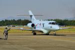 ちゃぽんさんが、茨城空港で撮影した航空自衛隊 U-125A(Hawker 800)の航空フォト(飛行機 写真・画像)