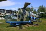 ちゃぽんさんが、モニノ空軍博物館で撮影したソビエト空軍 Mi-24Aの航空フォト(写真)
