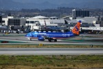 garrettさんが、ロサンゼルス国際空港で撮影したサンカントリー・エアラインズ 737-8Q8の航空フォト(写真)