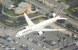garrettさんが、ロサンゼルス国際空港で撮影したエールフランス航空 777-328/ERの航空フォト(写真)