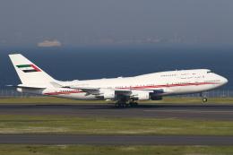 やまびこさんが、羽田空港で撮影したドバイ・ロイヤル・エア・ウィング 747-422の航空フォト(写真)