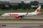 takaRJNSさんが、ドンムアン空港で撮影したタイ・ライオン・エア 737-8GPの航空フォト(写真)