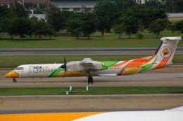 takaRJNSさんが、ドンムアン空港で撮影したノックエア DHC-8-402Q Dash 8の航空フォト(飛行機 写真・画像)