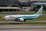 takaRJNSさんが、ドンムアン空港で撮影したノックエア 737-8ASの航空フォト(写真)