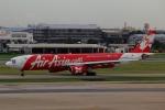 takaRJNSさんが、ドンムアン空港で撮影したタイ・エアアジア・エックス A330-343Xの航空フォト(写真)