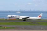 ハム太郎。さんが、羽田空港で撮影した日本航空 777-346の航空フォト(写真)