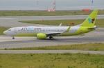 amagoさんが、関西国際空港で撮影したジンエアー 737-8B5の航空フォト(写真)