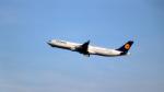 誘喜さんが、フランクフルト国際空港で撮影したルフトハンザドイツ航空 A340-313Xの航空フォト(写真)