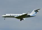 じーく。さんが、成田国際空港で撮影したAMERICAN EXPRESS TRAVEL RELATED SERVICES CO INC  G-IV-X Gulfstream G450の航空フォト(飛行機 写真・画像)