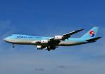 じーく。さんが、成田国際空港で撮影した大韓航空 747-8B5F/SCDの航空フォト(飛行機 写真・画像)