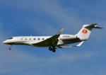 じーく。さんが、成田国際空港で撮影した南山公務 G650 (G-VI)の航空フォト(飛行機 写真・画像)