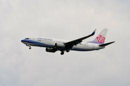 まいけるさんが、スワンナプーム国際空港で撮影したチャイナエアライン 737-8MAの航空フォト(写真)