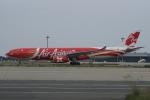 神宮寺ももさんが、関西国際空港で撮影したエアアジア・エックス A330-343Eの航空フォト(写真)