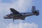 ちゃぽんさんが、ジュコーフスキー空港で撮影したRedBull Hangar 7 Collection B-25J Mitchellの航空フォト(飛行機 写真・画像)