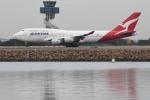 なないろさんが、シドニー国際空港で撮影したカンタス航空 747-438の航空フォト(写真)